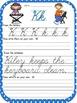 Alphabet Sheets With Cursive Letters