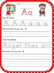 Alphabet Sheets With Manuscript Letters