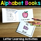 Alphabet Sight Word Books - Letter Learning Activities