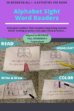 26 Alphabet Sight Word Readers - Aligned to MCGRAW-HILL WONDERS