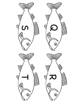 Alphabet, Sight Word and Numeral Fishing for Fun BUNDLE