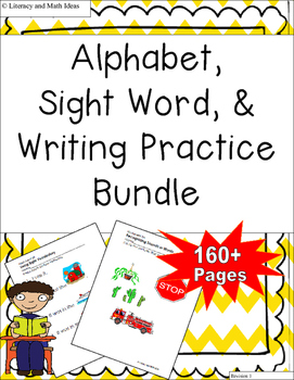 Alphabet, Sight Words, and Writing Bundle