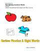 Alphabet, Sight Words, and Writing Bundle