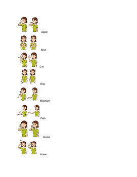 Alphabet Signs