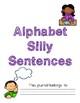 Alphabet Silly Sentences Writing Journal