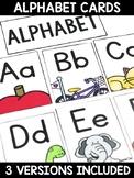 Alphabet Skill Focus Cards