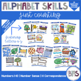 Alphabet Skills | Counting 1-10 and Letters A-Z | Printabl