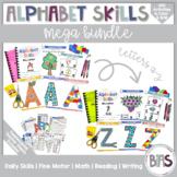 Alphabet Skills | Letter Books | Printable Letter Workshee