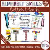 Alphabet Skills | Letter T | Printable Letter Worksheets