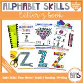 Alphabet Skills | Letter Z | Printable Letter Worksheets