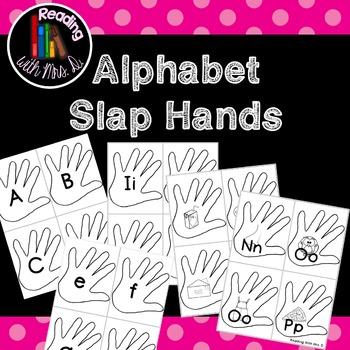 Alphabet Slap Hands