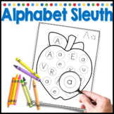 Letter Search Worksheets for Kindergarten