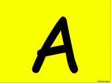 Alphabet Slideshow