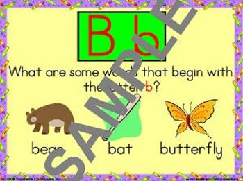 Alphabet Slideshows Unit from Teacher's Clubhouse
