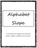 Alphabet Slope Activity