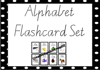 Alphabet Small Flashcards