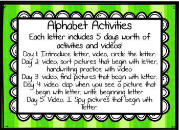 Alphabet Smart Board Activities Letters and Sounds