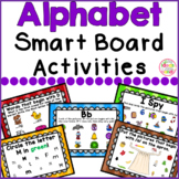 #summerwishes Alphabet Smart Board Activities Letters and Sounds