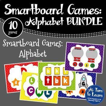 Alphabet Smartboard Games MEGA BUNDLE (10 games included!)