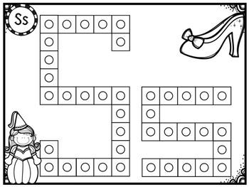 Alphabet Snap Cube Letters