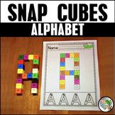 Alphabet Snap Cube Worksheets