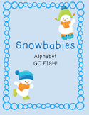 Alphabet SnowBabies Go FISH OR  Memory Cards