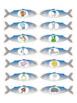 Alphabet - Ice Fishing Themed File Folder Alphabet Match