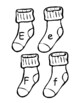 Alphabet Sock Matching Game