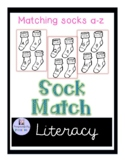 Alphabet Sock Matching Game