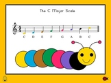Alphabet Song / ABC Song - Interactive PowerPoint Slide Show  & Sheet Music