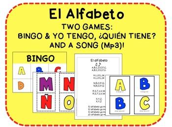 Alphabet Song & Games {Spanish}