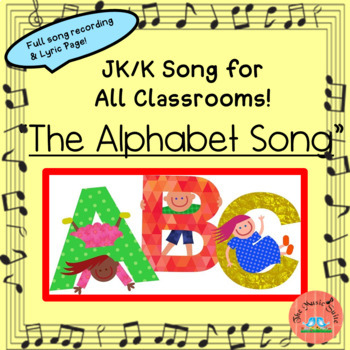 """Alphabet Song!  """"Letters are Fun!"""" FREE TODAY!"""