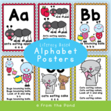 Alphabet Song Posters {Beginning Sounds}