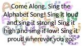 Alphabet Song Slide Show