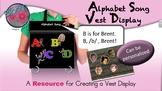 Alphabet Song - Vest Display - VI