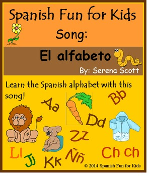 Alphabet Song in Spanish