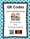 Alphabet Songs QR Codes - Complete Set