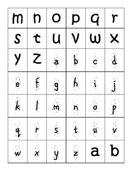 Alphabet Sort Center