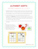 Alphabet Sort File Folders