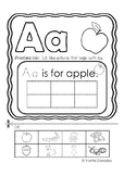 Alphabet Sort: Letter Aa