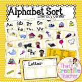 Alphabet Sort Literacy Center
