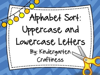Alphabet Sort: Uppercase and Lowercase Letters