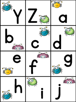Alphabet Sortin' and Buggin'