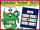 Alphabet Sorting Cards for Pocket Charts, Stations or Word Walls