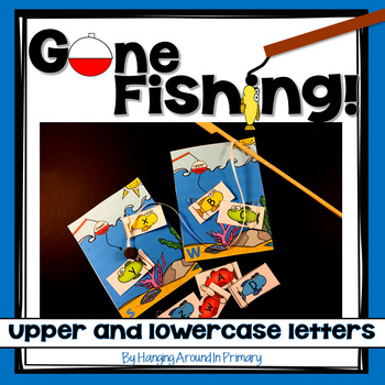 Alphabet Sorting Center - Gone Fishing!