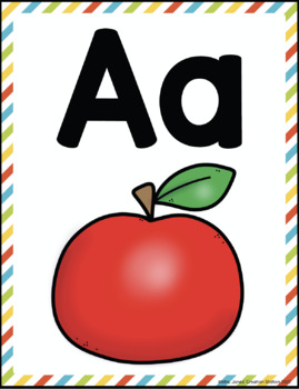 Alphabet Posters {Now I Know My ABC's Series}