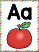 Alphabet Wall Cards Posters {Now I Know My ABC's Series}