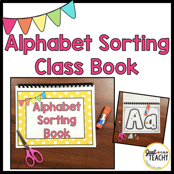 Alphabet Sorting Class Book