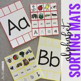 Alphabet Sorting Mats { 26 mats - 386 pieces } for Student