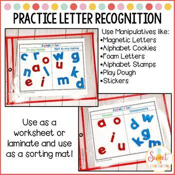FREE Alphabet Sorting Mats
